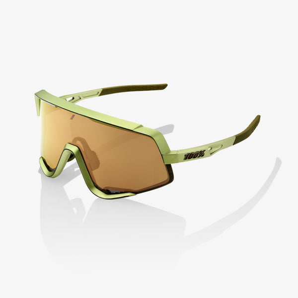 GLENDALE - Matte Metallic Viperidae - Bronze Multilayer Mirror Lens