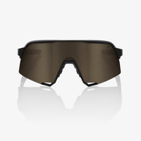 S3 - Soft Tact Black - Soft Gold Lens