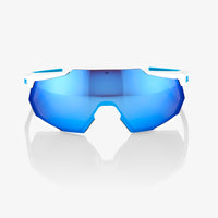 RACETRAP Movistar Team White HiPER Blue Multilayer Mirror Lens