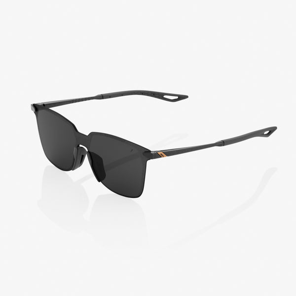 LEGERE Square - Polished Black - Smoke Lens