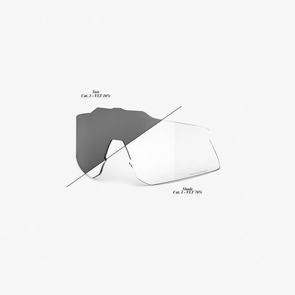 SPEEDCRAFT XS Replacement Lens - Photochromic Clear/Smoke
