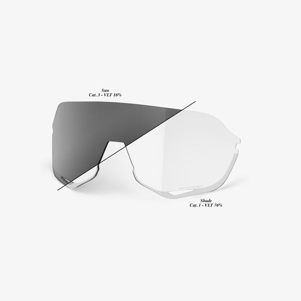 S2 Replacement Lens - Photochromic Clear - Smoke