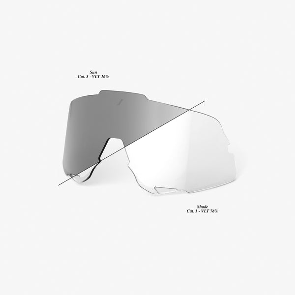 GLENDALE Replacement Lens - Photochromic Clear/Smoke