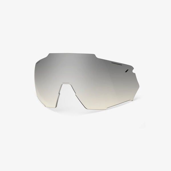 RACETRAP Replacement Lens - Low-light Yellow Silver Mirror