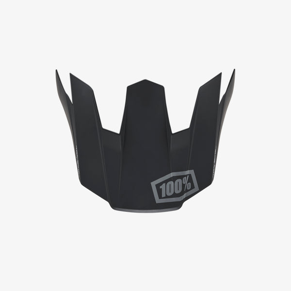 TRAJECTA Replacement Visor - Black