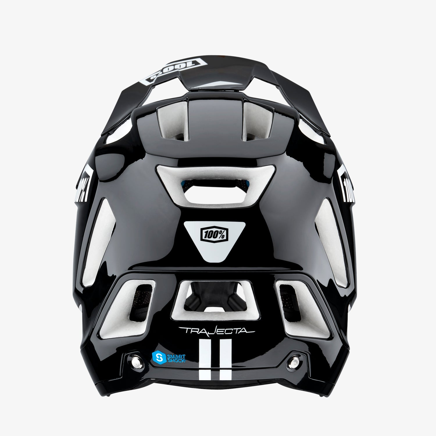 TRAJECTA All Mountain/Enduro Helmet Black/White