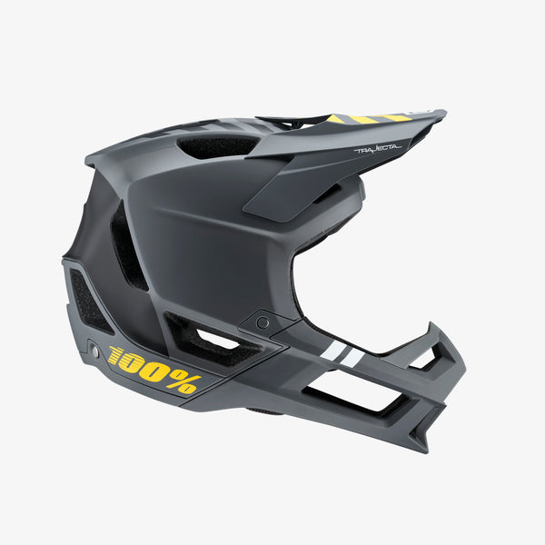 TRAJECTA All Mountain/Enduro Helmet Charcoal