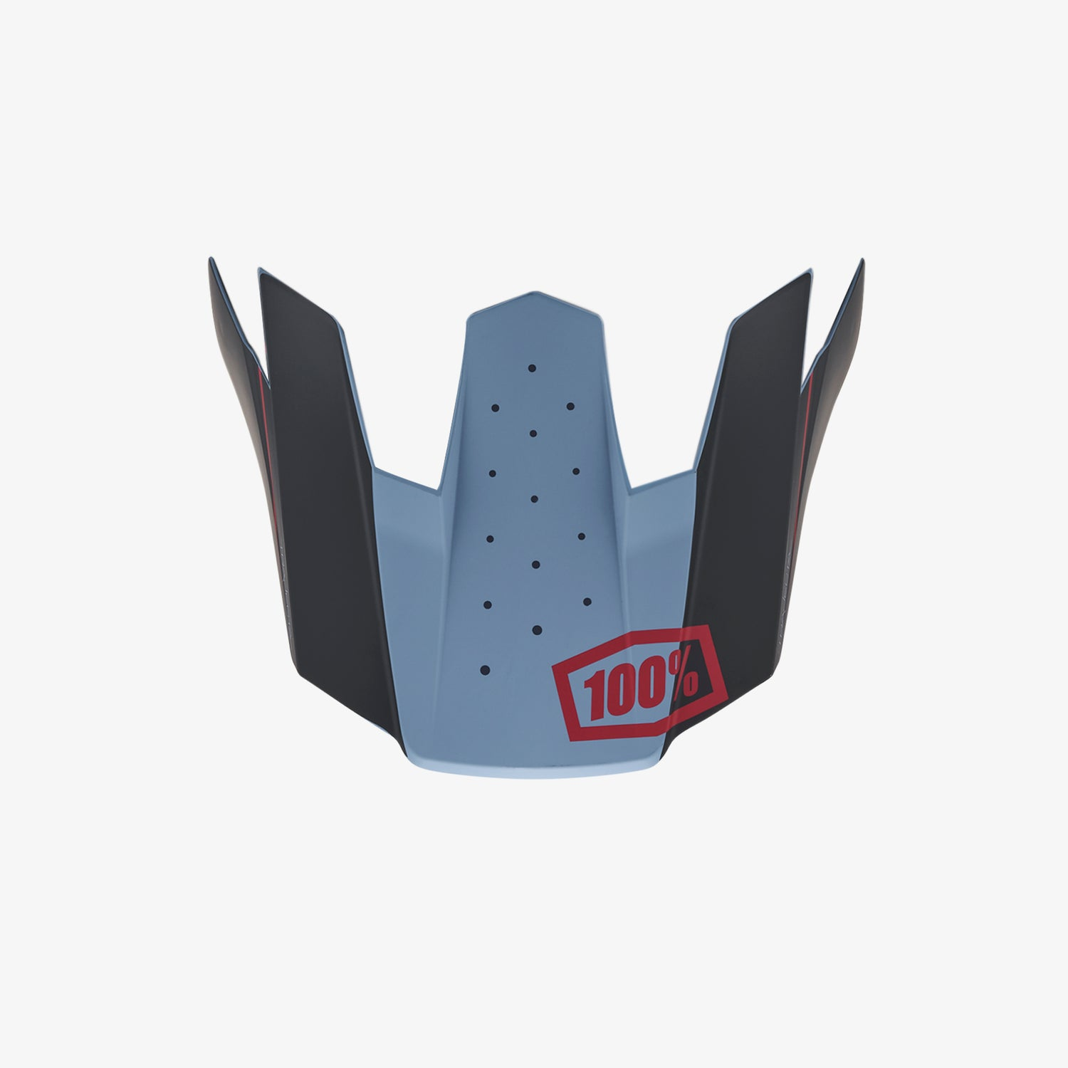 TRAJECTA Replacement Visor - Slate Blue