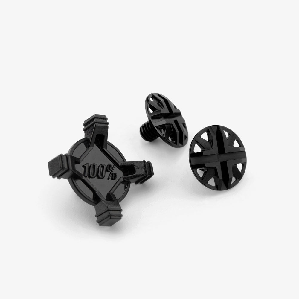 AIRCRAFT Visor Screw kit - Black