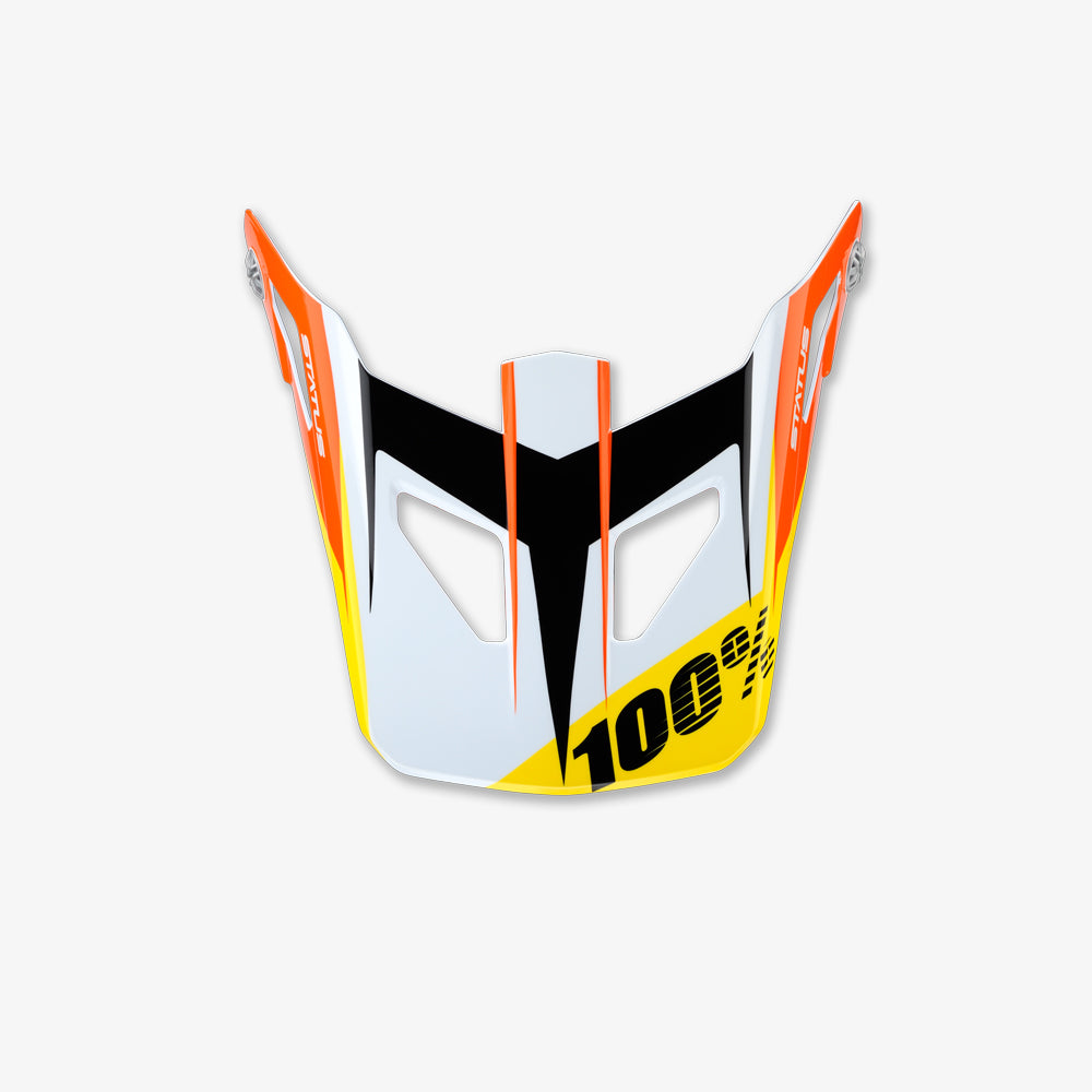 STATUS JR Replacement Visor - D-Day White