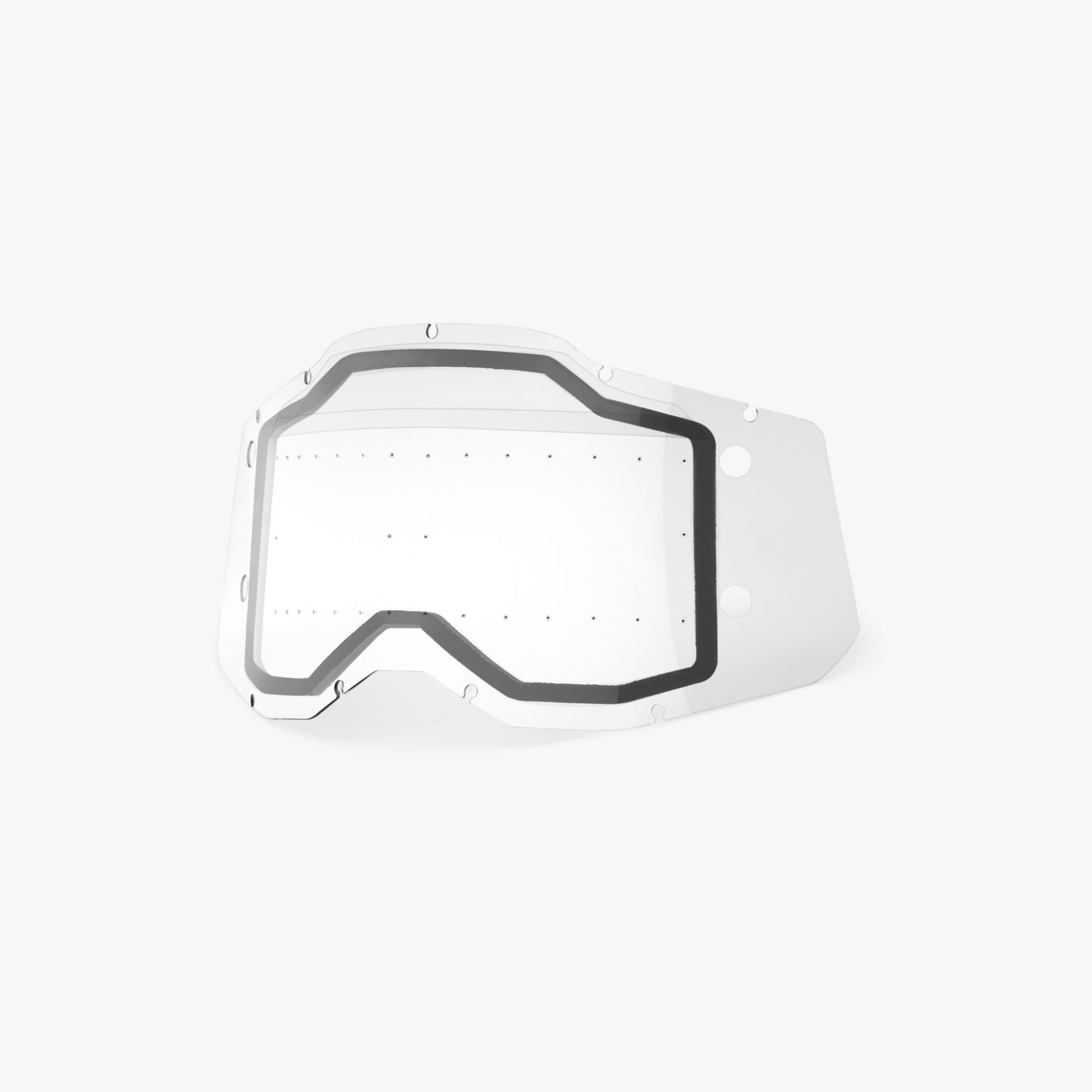 RACECRAFT2/ACCURI2/STRATA2 FORECAST Replacement Lens - Dual Pane w/ bumps Clear