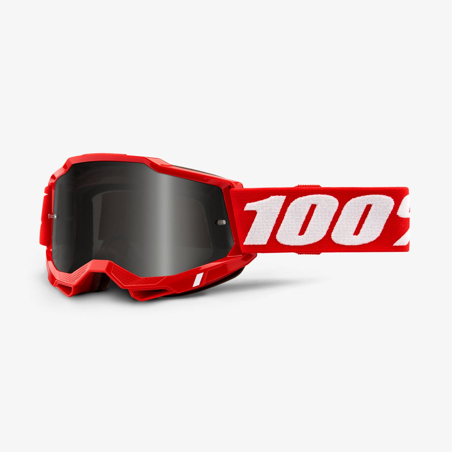 ACCURI 2 Sand Goggle Red - Smoke Lens