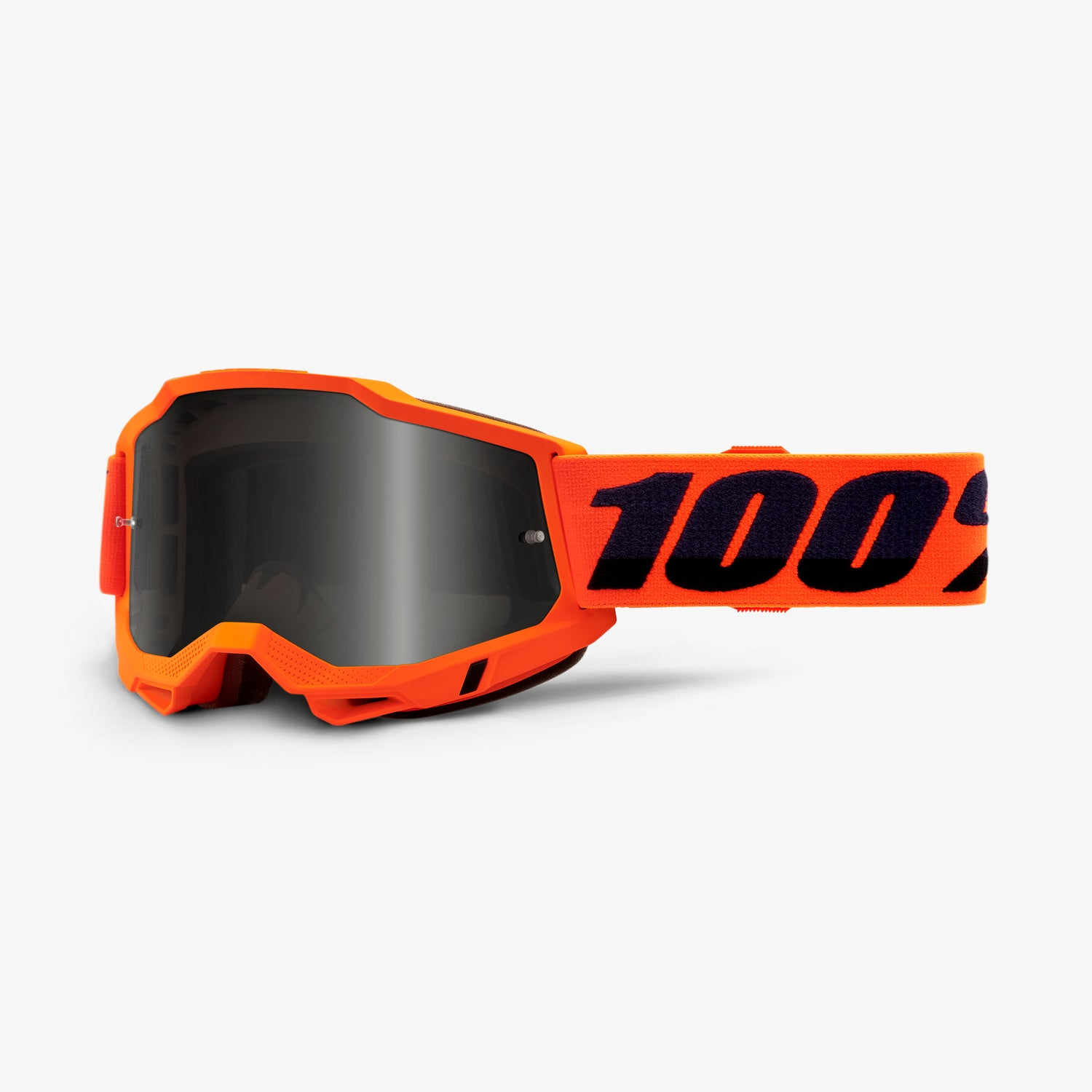 ACCURI 2 Sand Goggle Neon Orange - Smoke Lens