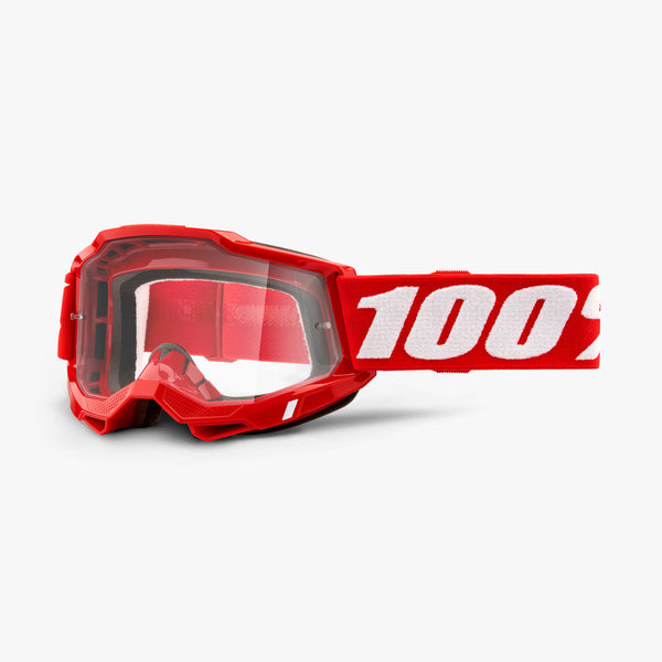 ACCURI 2 OTG Goggle Red - Clear Lens