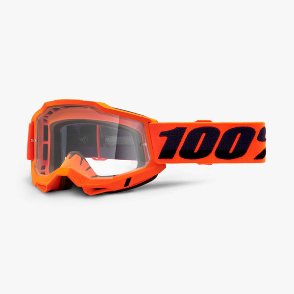 ACCURI 2 OTG Goggle Neon Orange - Clear Lens
