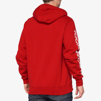SYNDICATE Hooded Zip Sweatshirt Chili Pepper