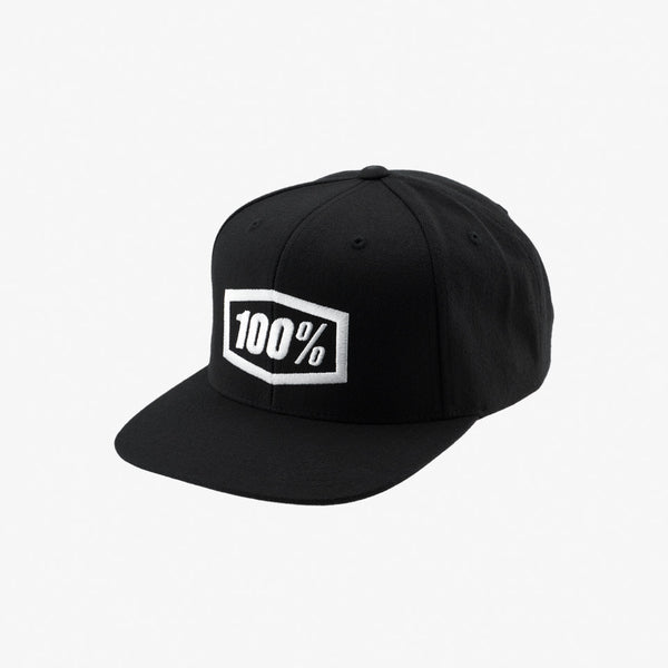 ESSENTIAL SnapBack Hat - Black