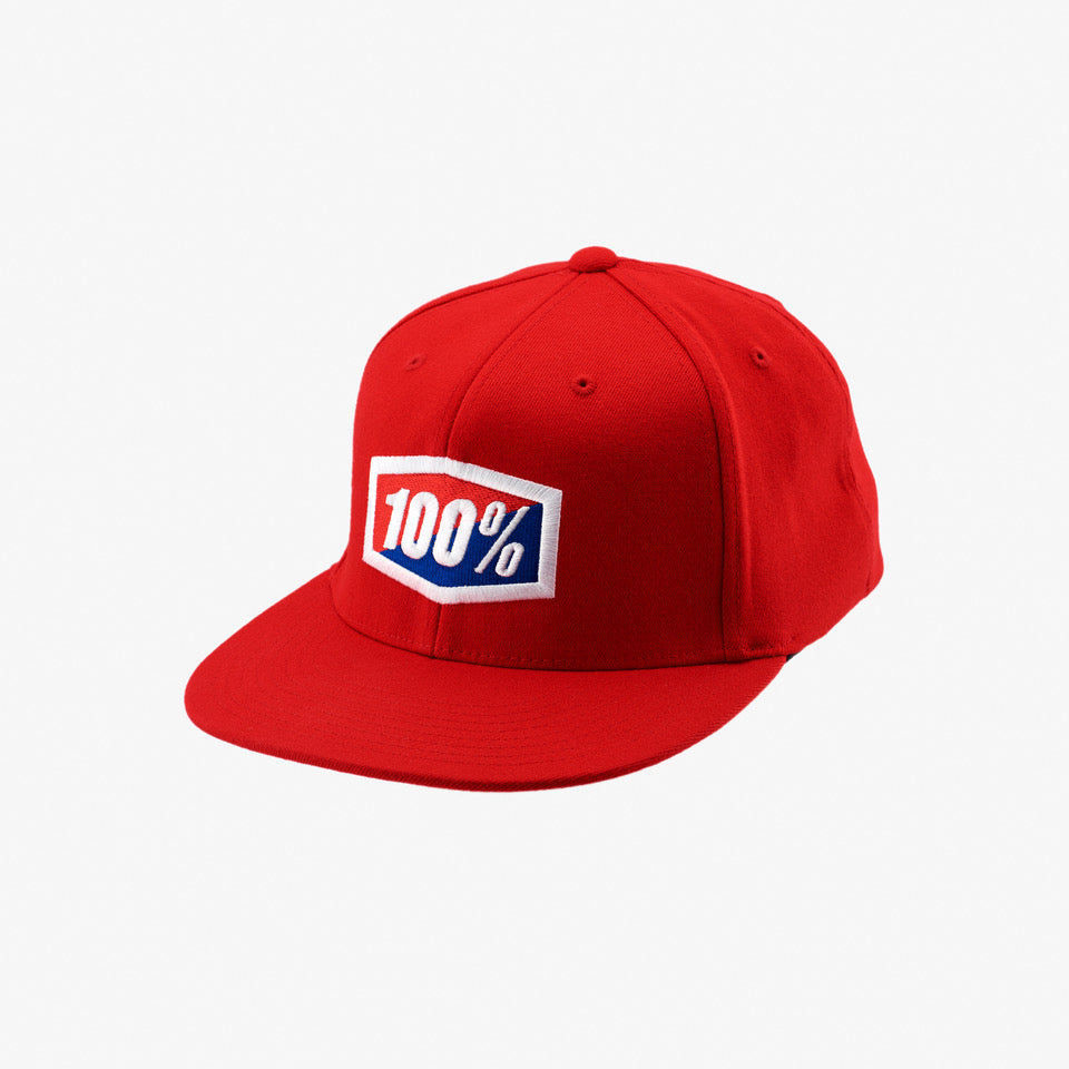 OFFICIAL J-Fit Hat - Red