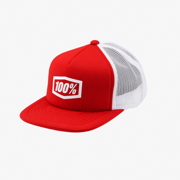 SHIFT Youth Trucker Hat Red