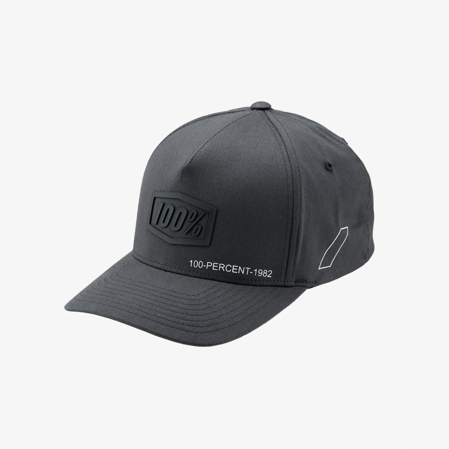 SHADOW X-Fit Snapback Hat Steel