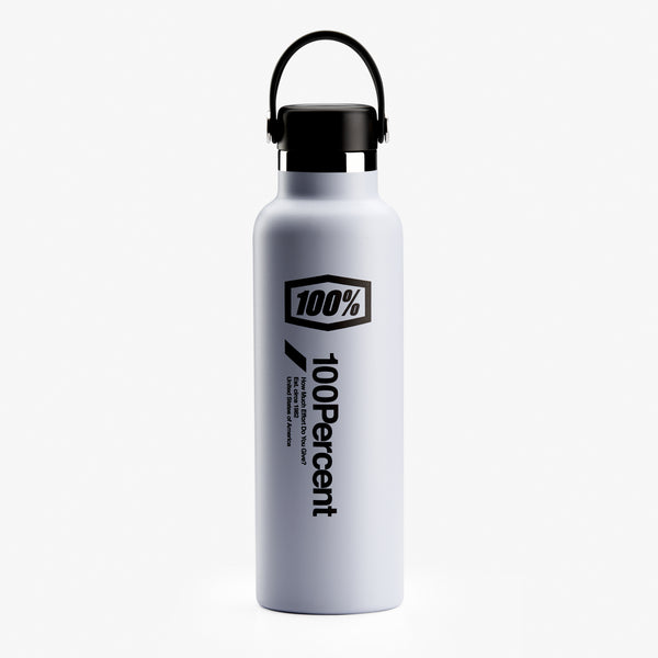 100% Hydro Flask 21oz Standard Mouth Waterbottle - Fog