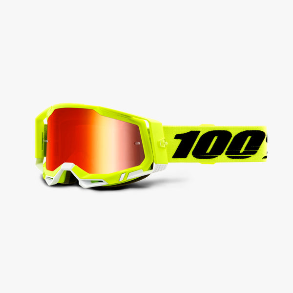 RACECRAFT 2 Goggle Fluo Yellow