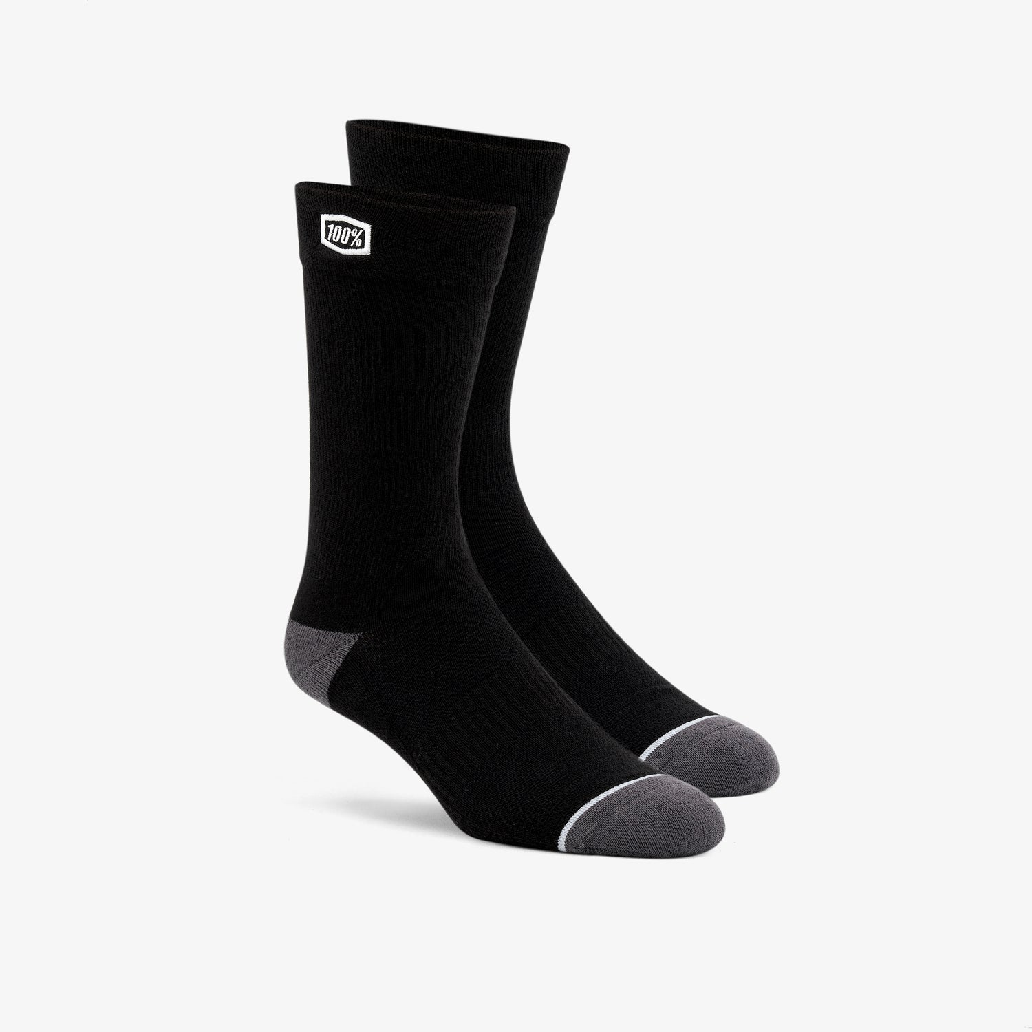 SOLID Casual Socks Black