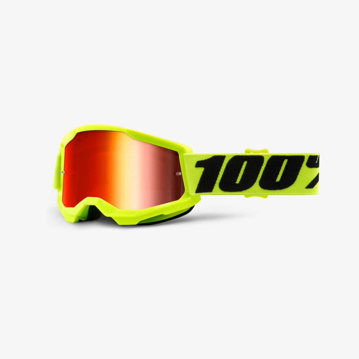 STRATA 2 Youth Goggle Fluo Yellow