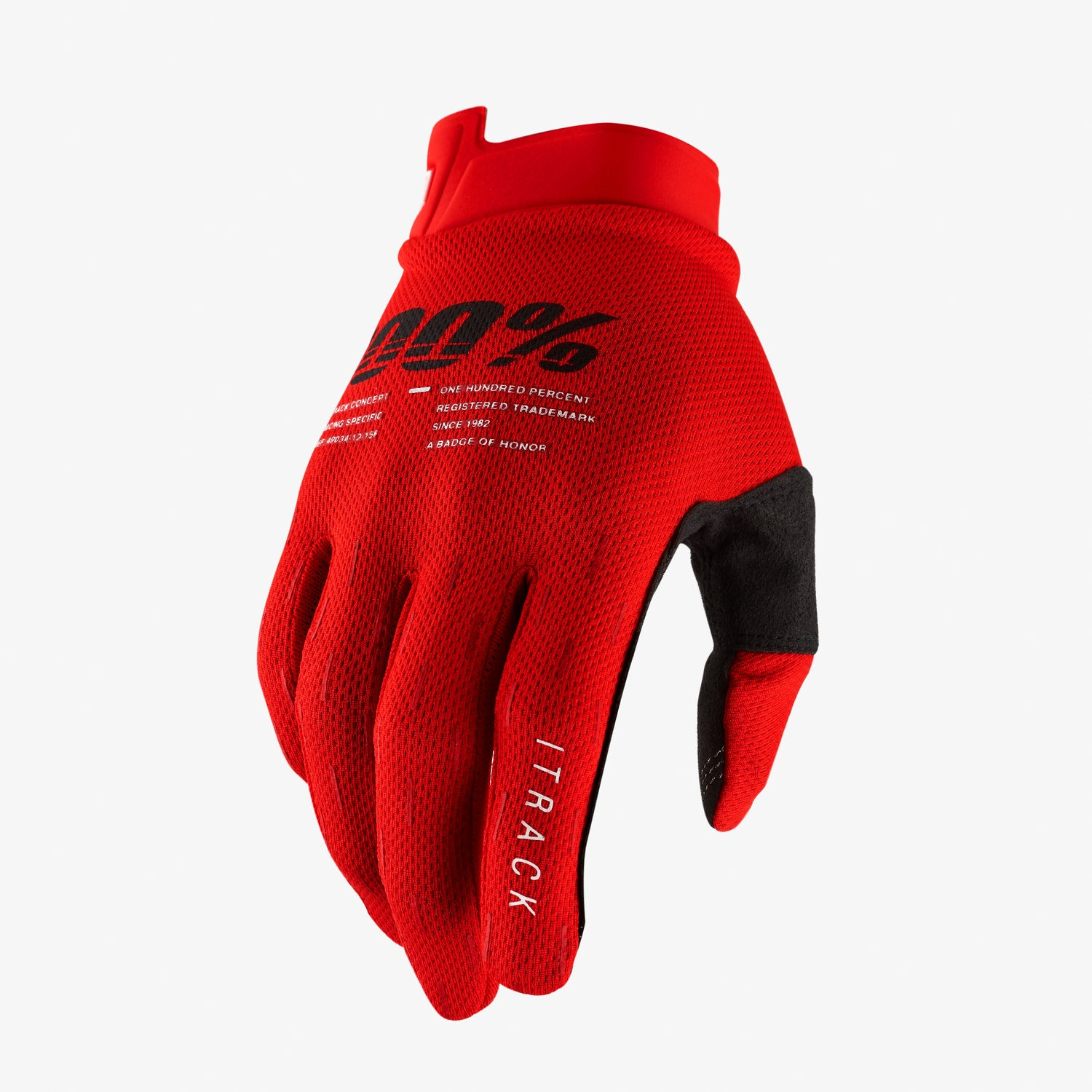 ITRACK Gloves Red