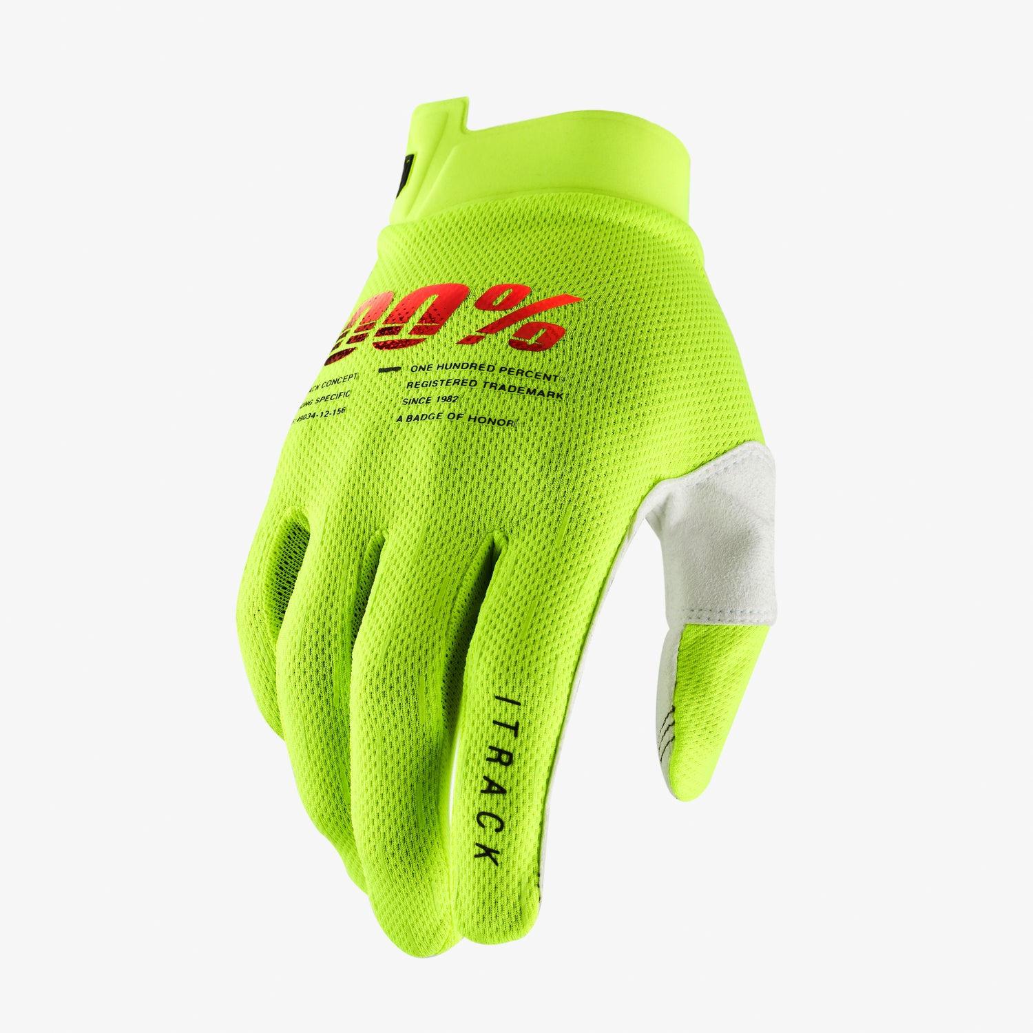 ITRACK Gloves Fluo Yellow