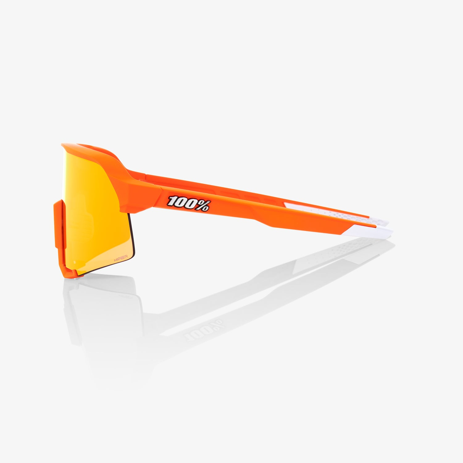 S3 Neon Orange HiPER Red Multilayer Mirror Lens