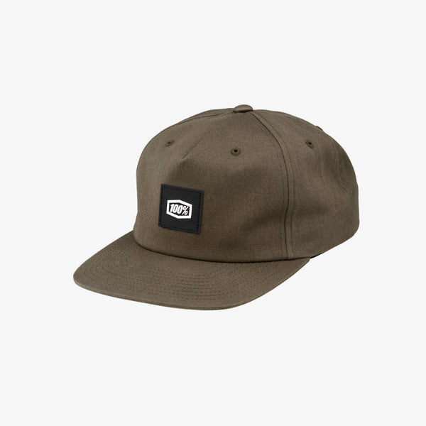 LINCOLN Snapback Hat Brindle