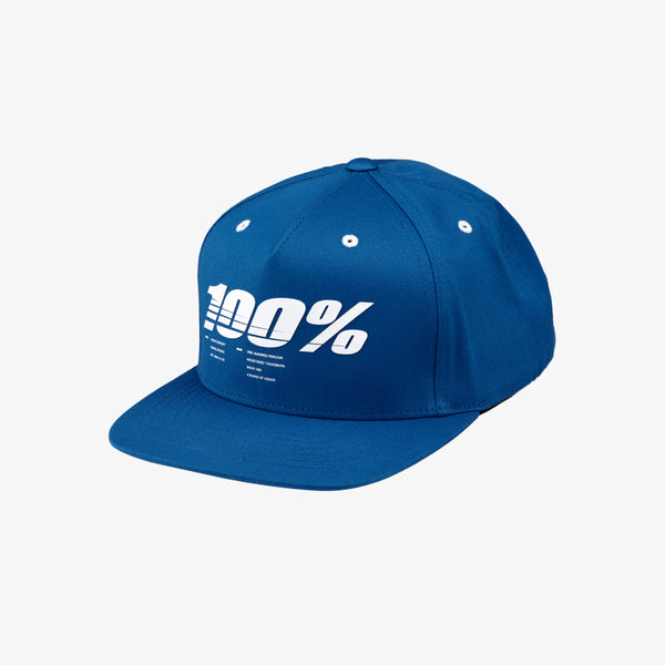 DRIVE Youth Snapback Hat Blue