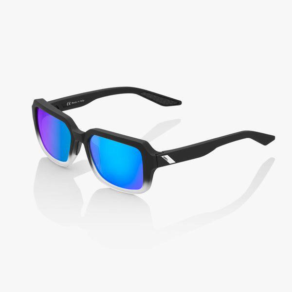 RIDELEY - Soft Tact Fade Black - Blue Multilayer Mirror Lens