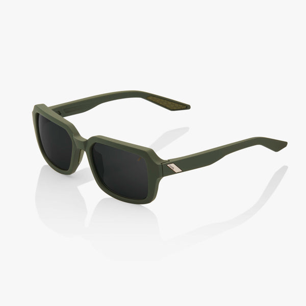 RIDELEY - Soft Tact Army Green - Black Mirror Lens