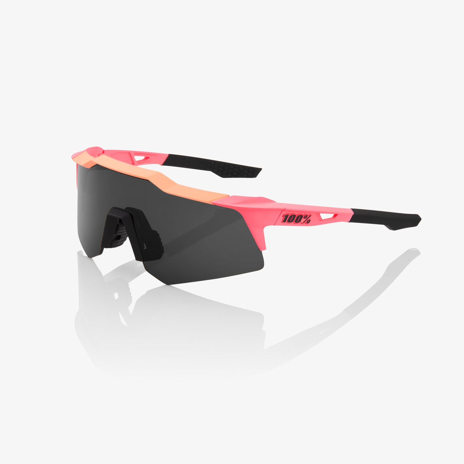 SPEEDCRAFT XS - Matte Washed Out Neon Pink - Smoke Lens