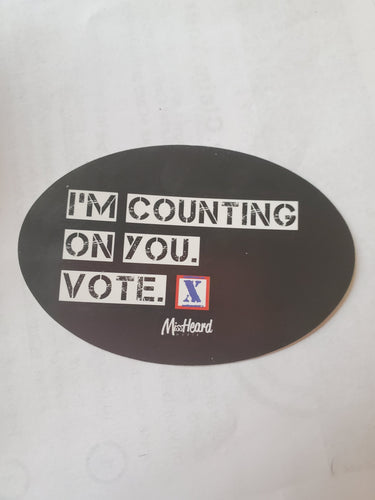 I'm Counting on You GOTV Sticker