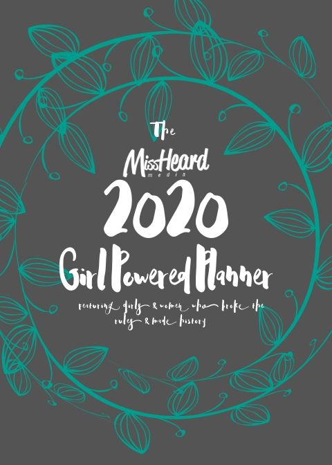 2020 Girl Powered Planner by MissHeard Media