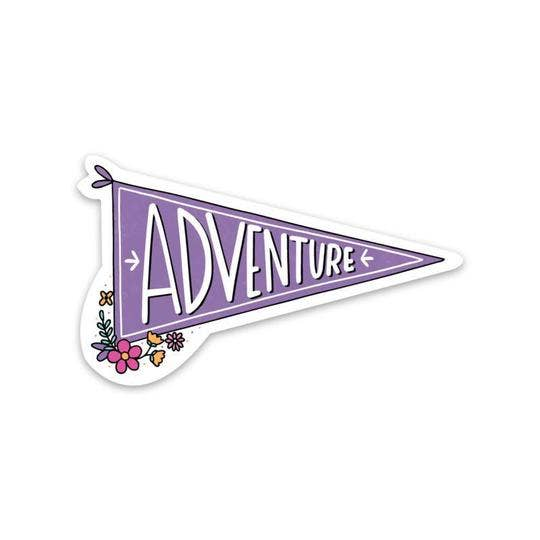 Adventure Flag Sticker