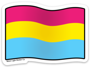 Pan Pride Flag Sticker