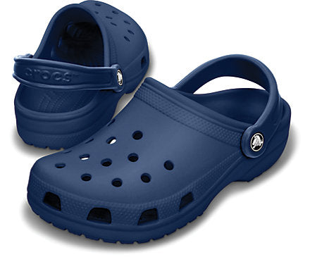 Men's Crocs Classic Cayman Clog Shoe Navy