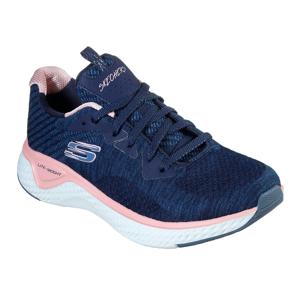 Women's Skechers SOLAR FUSE - BRISK ESCAPE Trainer Navy