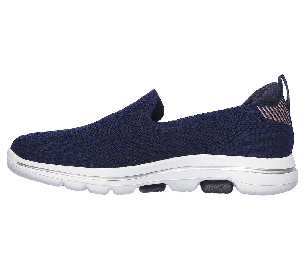Women's Skechers SKECHERS GOWALK 5 - PRIZED Shoe Navy