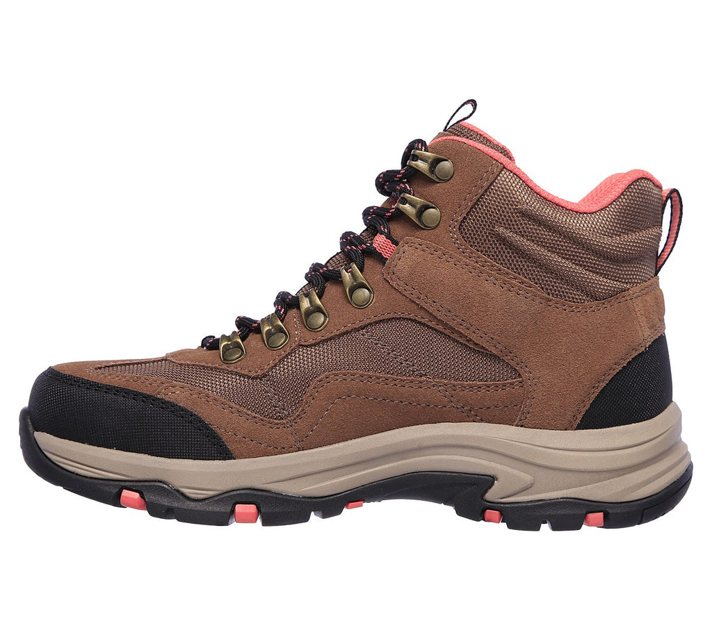 Women's Skechers RELAXED FIT: TREGO - BASE CAMP Waterproof Boot Tan