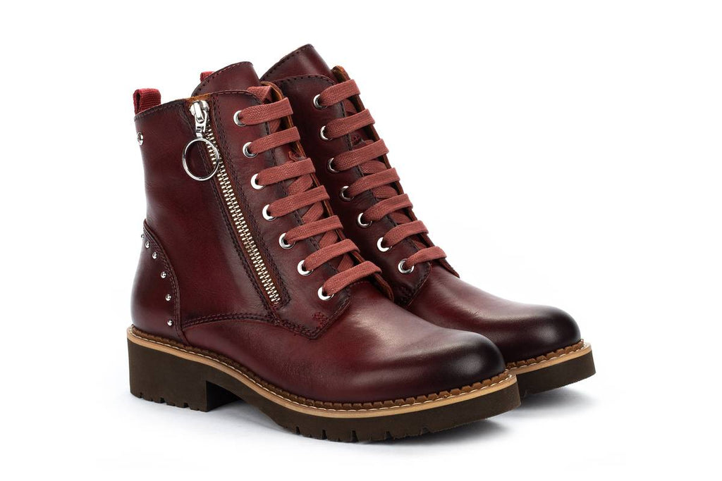 Women's Pikolinos Vicar Boot Wine Red