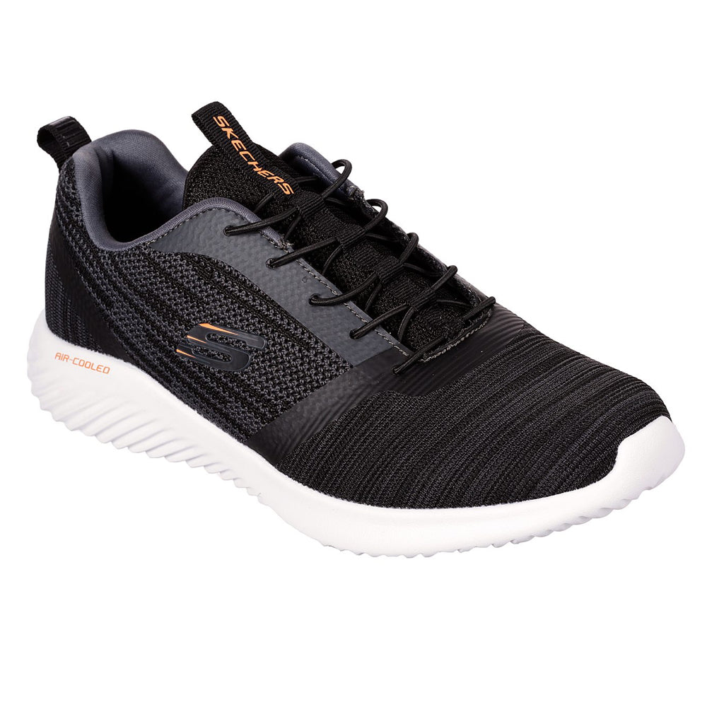 Men's Skechers  BOUNDER Trainer Shoe Black