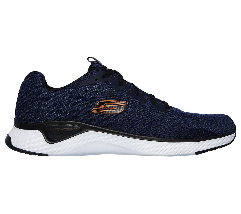 Men's Skechers SOLAR FUSE - KRYZIK Shoe Navy Multi