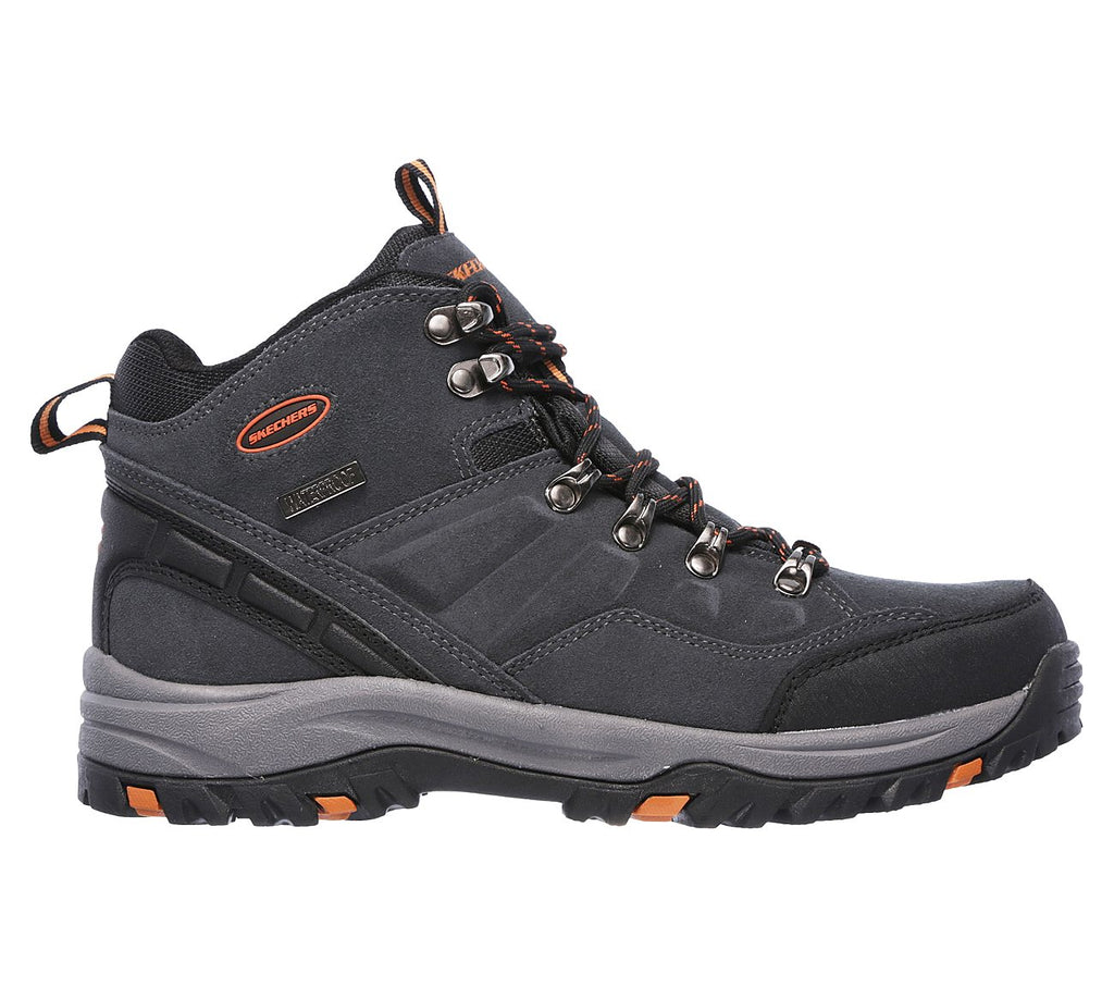 Men's Skechers Relment Pelmo Walking Boot Grey