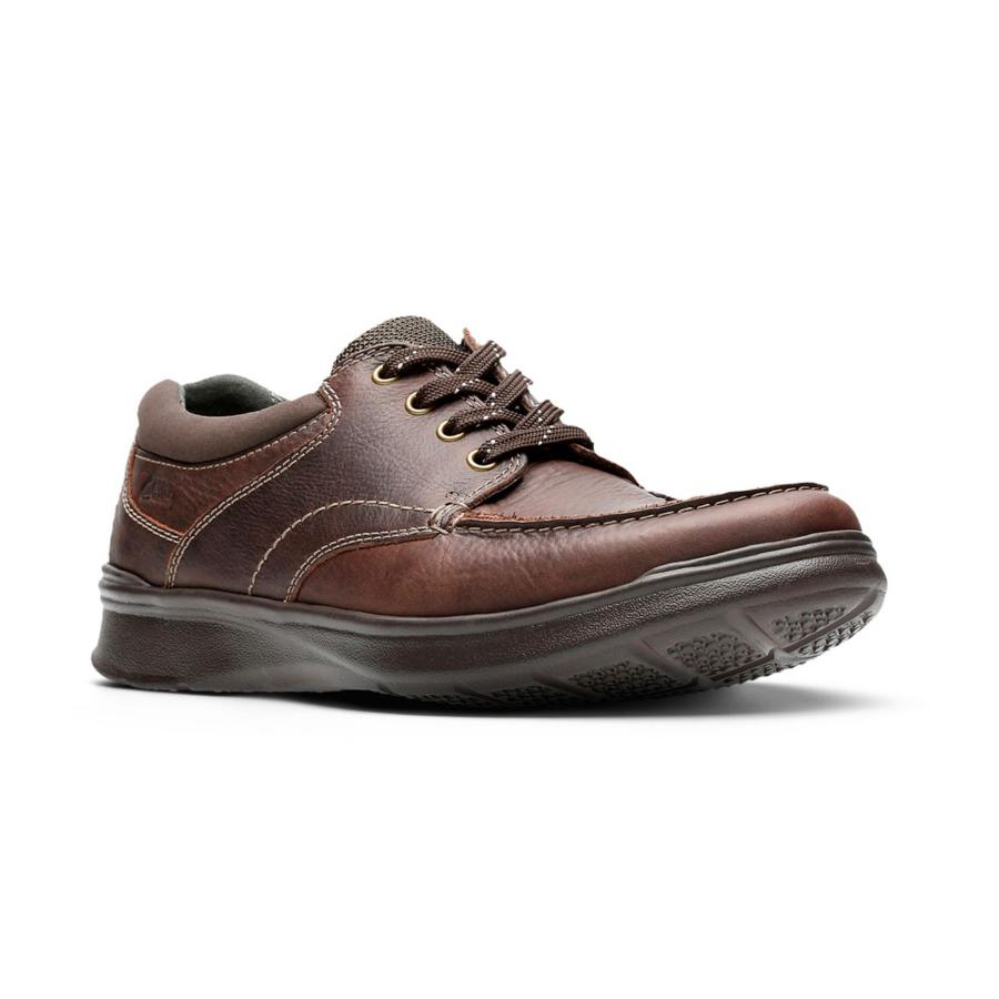Men's Clarks Cotrell Edge Shoe Brown