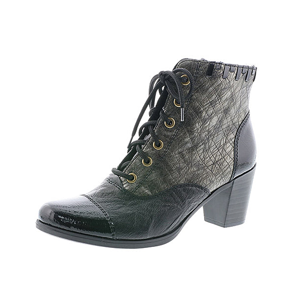 Women's Rieker Ottowa Lace Up Boot Grey Multi